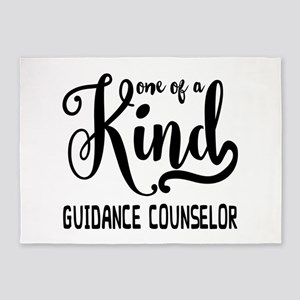 One of a Kind Guidance Counselor 5'x7'Area Rug