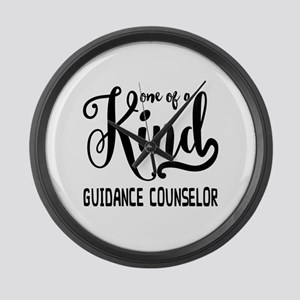 One of a Kind Guidance Counselor Large Wall Clock