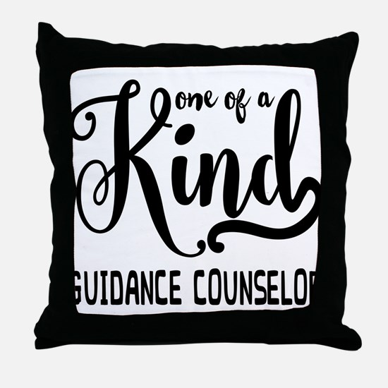 One of a Kind Guidance Counselor Throw Pillow