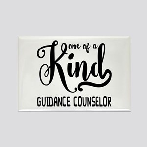 One of a Kind Guidance Counselor Rectangle Magnet