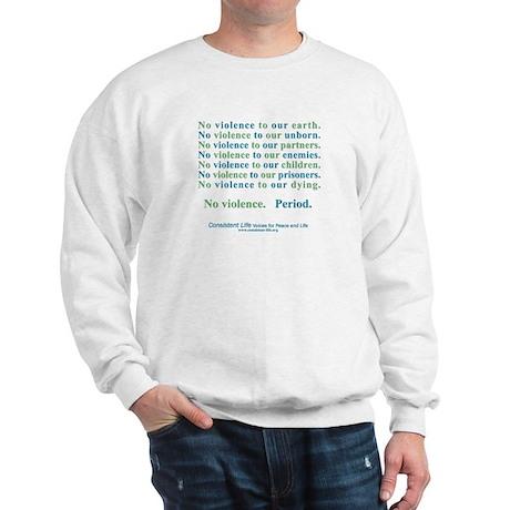 No Violence Sweatshirt