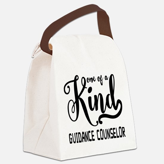 One of a Kind Guidance Counselor Canvas Lunch Bag