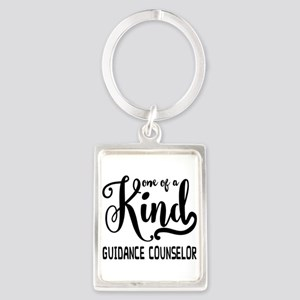 One of a Kind Guidance Counselor Portrait Keychain