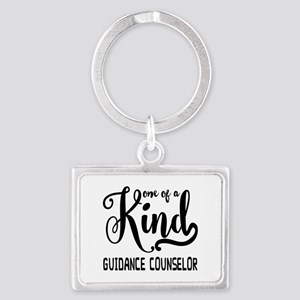 One of a Kind Guidance Counselo Landscape Keychain