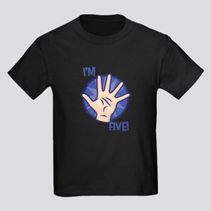 I'm Five (5th Birthday Shirt) BLUE T-Shirt
