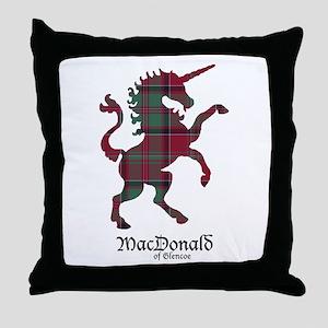 Unicorn-MacDonaldGlencoe Throw Pillow