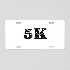 5K Aluminum License Plate