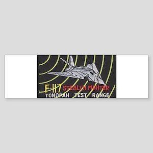 F-117 Stealth Tonopah Bumper Sticker
