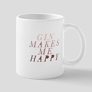 gin makes me happy Mugs