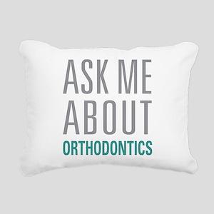 Orthodontics Rectangular Canvas Pillow