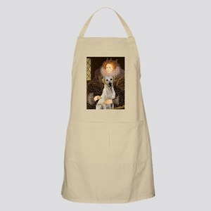Queen & Yellow Lab BBQ Apron