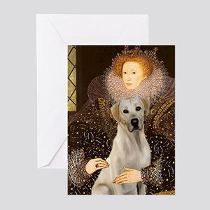 Queen & Yellow Lab Greeting Cards (Pk of 10)