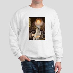 Queen & Yellow Lab Sweatshirt