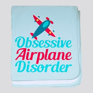Cool Airplane baby blanket