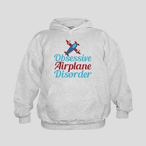 Cool Airplane Kids Hoodie