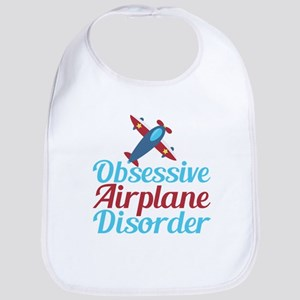 Cool Airplane Cotton Baby Bib