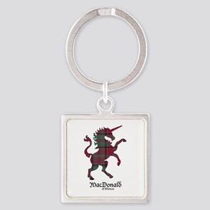 Unicorn-MacDonaldGlencoe Square Keychain