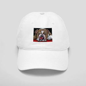 English Bulldog Valentine Hat