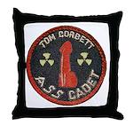 Tom Corbett Ass Cadet Patch - Throw Pillow