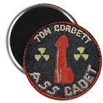 """Tom Corbett Ass Cadet Patch 2.25"""" Magnet (10 pack)"""