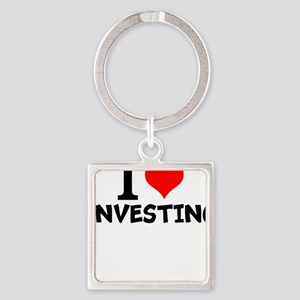 I Love Investing Keychains