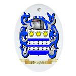 Nicholson Oval Ornament