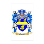 Nicholls Sticker (Rectangle 50 pk)