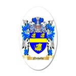 Nicholls 20x12 Oval Wall Decal