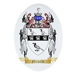 Nicholls 2 Oval Ornament