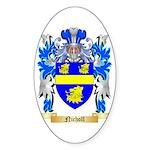 Nicholl Sticker (Oval 50 pk)