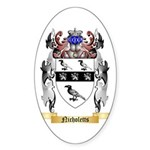 Nicholetts Sticker (Oval 50 pk)