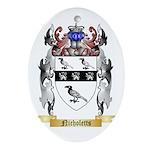 Nicholetts Oval Ornament