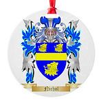 Nichol Round Ornament