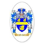 Nichol Sticker (Oval 50 pk)