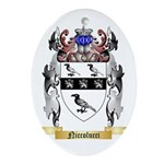 Niccolucci Oval Ornament