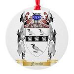 Niccolo Round Ornament