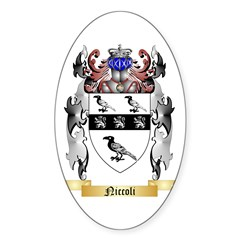 Niccoli Sticker (Oval 50 pk)