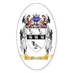 Niccolai Sticker (Oval 50 pk)