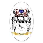 Niccola Sticker (Oval 50 pk)