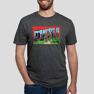 Pueblo Colorado Greetings (Front) Ash Grey T-Shirt