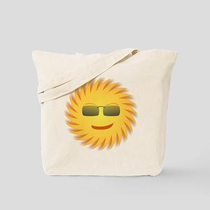 Mr. Sun In Sunglasses Tote Bag