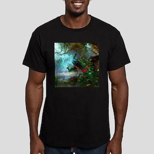 Beautiful Peacocks In Garden T-Shirt
