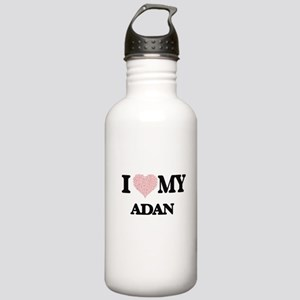 I Love my Adan (Heart Stainless Water Bottle 1.0L