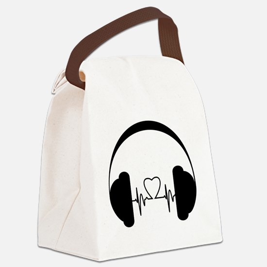 Cool Podcast Canvas Lunch Bag