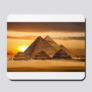 Egyptian pyramids Mousepad