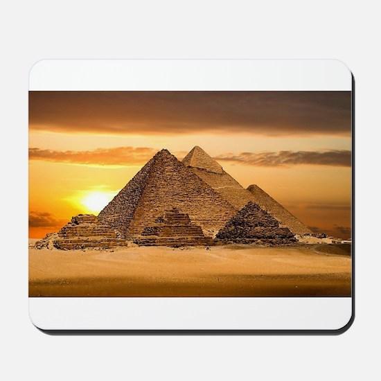Egyptian pyramids Mousepad