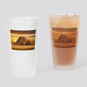 Egyptian pyramids Drinking Glass