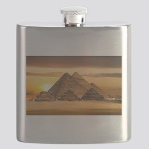 Egyptian pyramids Flask