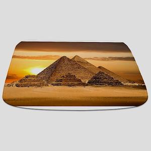 Egyptian pyramids Bathmat