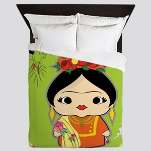 Frida Kahlo Queen Duvet